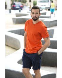 Herren T-Shirt Fashion V-neck Clique