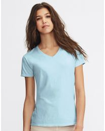 Damen T-Shirt V-Neck Original Comfort Colors