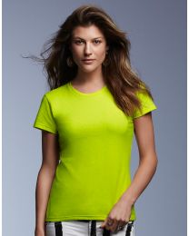 Damen T-Shirt Fashion Basic Anvil