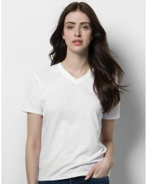 Damen T-Shirt Subli Plus V-Neck Xpres