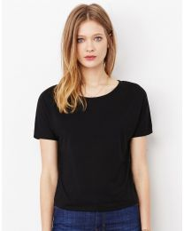 T-Shirt Flowy Open Back Bella