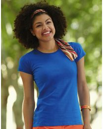 Damen T-Shirt Sofspun Fruit of the Loom