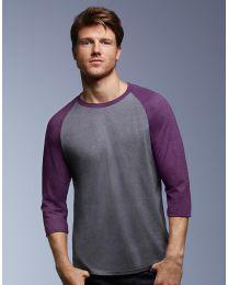 Herren Sweatshirt Tri-Blend Anvil