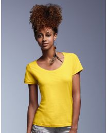 Damen T-Shirt Featherweight Scoop Anvil