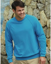 Sweatshirt Lightweight Raglan Fruit of the Loom