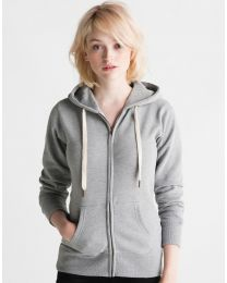 Ladies` Superstar Zip Through Hoodie