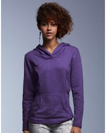 Damen Kapuzensweatshirt French Terry Anvil