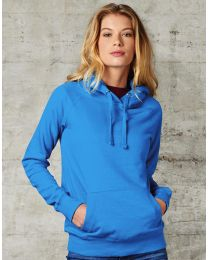 Damen Kapuzensweatshirt Raglan FDM