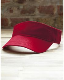 Visor-Cap Solid Twill Anvil
