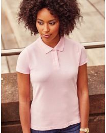Damen Poloshirt Cotton Russell Europe