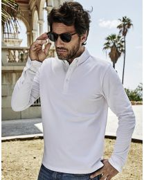 Fashion LS Luxury Stretch Polo