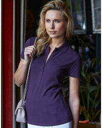 Damen Luxury Stretch Poloshirt Tee Jays