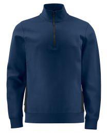 2128 sweatshirt mit half zip