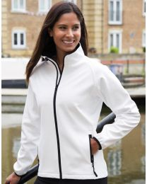 Bedruckbare Damen Softshell Jacke