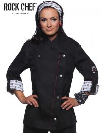 Damen Kochjacke Fashionable Rock Karlowsky