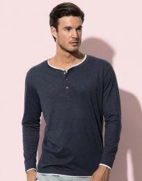 T-shirt Langarm Luke Henley Stedman