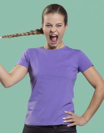 Damen Tagless-T-Shirt Perfect Print SG