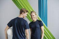 Damen T-Shirt Premium Active Clique