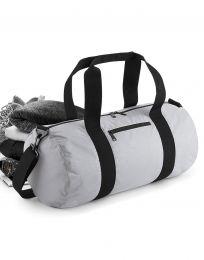 Reisetasche Reflective Barrel BagBase