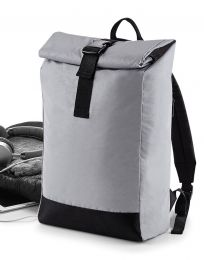 Rucksack Reflective Roll-Top BagBase