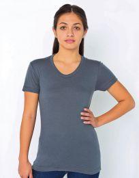 Damen T-Shirt Poly-Baumwolle American Apparel