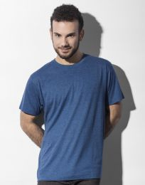 Herren T-Shirt Larry Triblend Favourite Nakedshirt