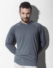 Unisex-T-Shirt mit Kapuze Cecil Nakedshirt
