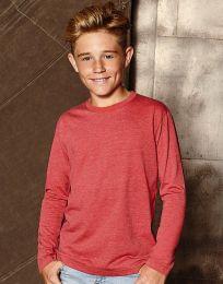 Jungen Langarm-T-Shirt HD Russell
