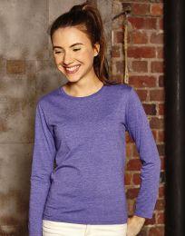 Mädchen Langarm-T-Shirt HD Russell
