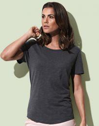 Damen T-Shirt Organic Slub Stedman