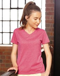 Kinder T-Shirt V-Neck Mit Russell Europe