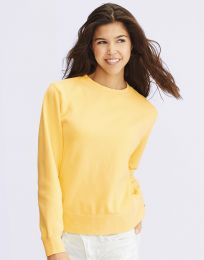 Damen Sweatshirt Crewneck Comfort Colors