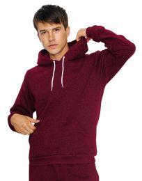 Sweatshirt mit Kapuze Mock Twist American Apparel