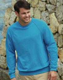 Sweatshirt Lightweight Raglan Fruit of the Loom