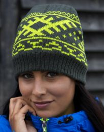 Mütze Nordic Knitted Result