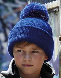 Kinder Mütze Reflective Bobble Beechfield