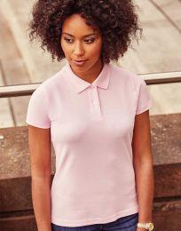 Damen Poloshirt Classic Baumwolle Russell