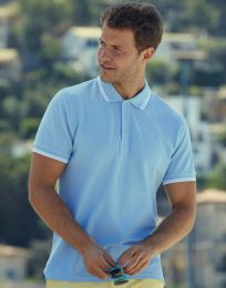 Poloshirt Tipped Fruit of the Loom