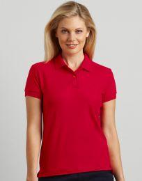 Damen Poloshirt DryBlend Double Piqué Gildan