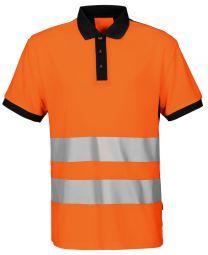 Warnschutz-Poloshirt Pique EN ISO 20471 Kl. 2 6008 Projob