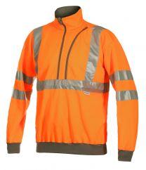 Warnschutz-Sweatshirt EN ISO 20471 Kl. 3 6102 Projob
