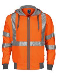 Warnschutz-Kapuzenshirt EN ISO 20471 Kl. 3/2 6104 Projob