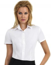 Bluse Poplin Smart B&C Collection
