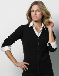 Damen Cardigan Arundel V-Neck Kustom Kit
