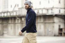 Outdoor Pullover mit Zip ID Identity