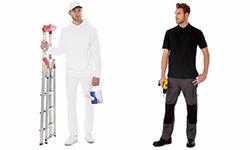 Arbeitskleidung Bau & Installation